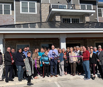 Vintage Cooperative Ribbon Cutting